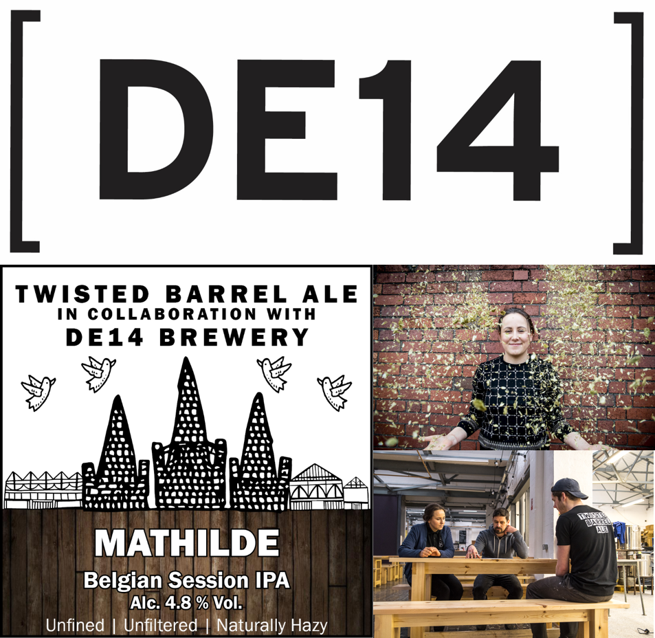 DE14 x Twisted Barrel Collaboration