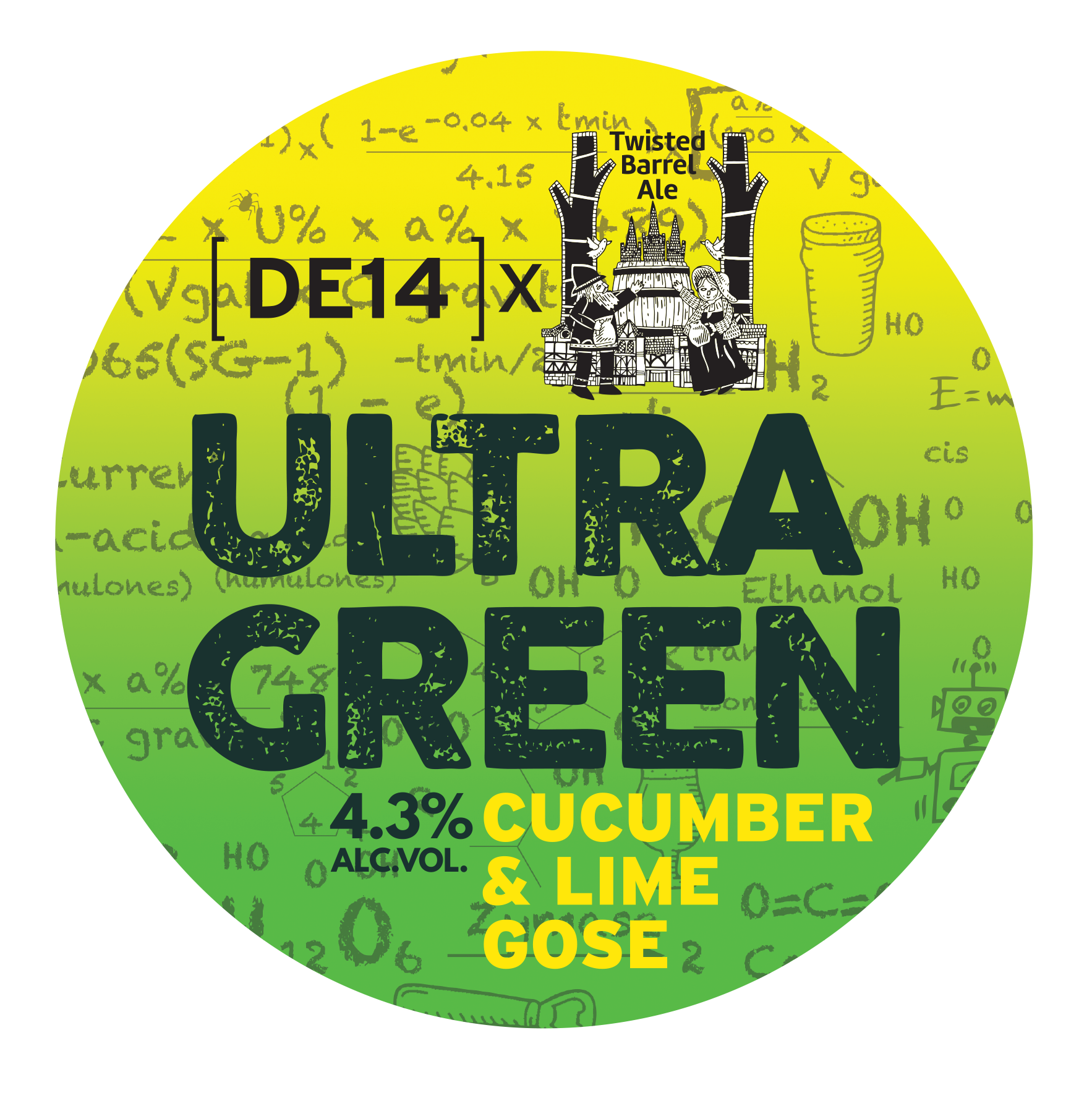 UltraGreen – Our 2nd collab beer with Twisted Barrel